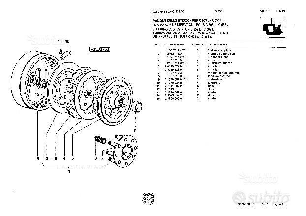 3 manuali per trattore Lamborghini C 503: libri e riviste ...