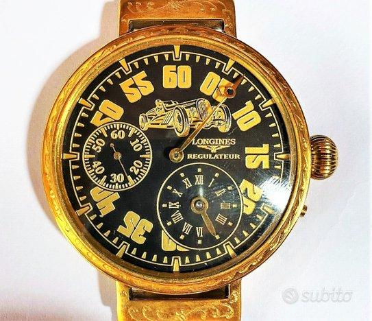 LONGINES Vintage Wristwatch Gold Regulateur '20