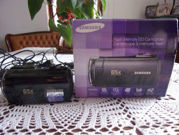 Videocamera samsung 65 x come nuova