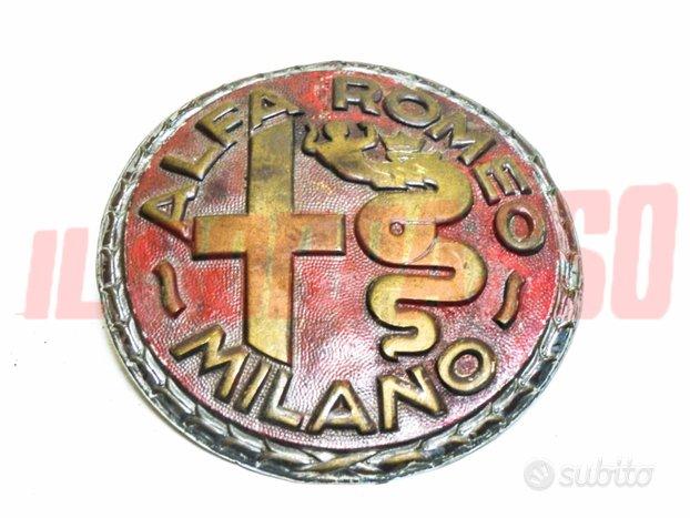 Portachiavi stemma fregio emblema alfa romeo