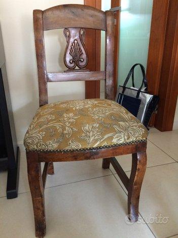 Sedie antiche - Collezionismo In vendita a Milano
