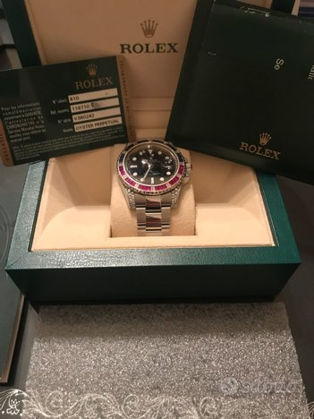 Rolex GMT MASTER II Taylor Made