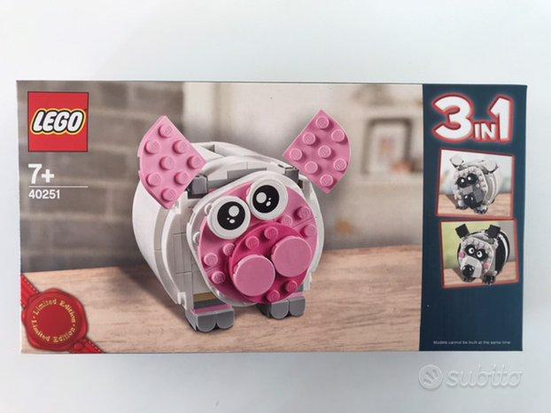 Lego creator 3 in 1 40251 salvadanaio
