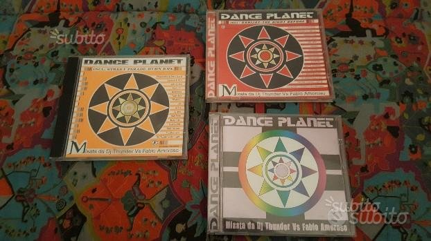 "Dischi originali ""Dance Planet Vol.1-3-6"""