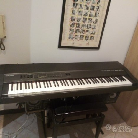Piano roland rd300 mixer stand a altoparlanti ampl