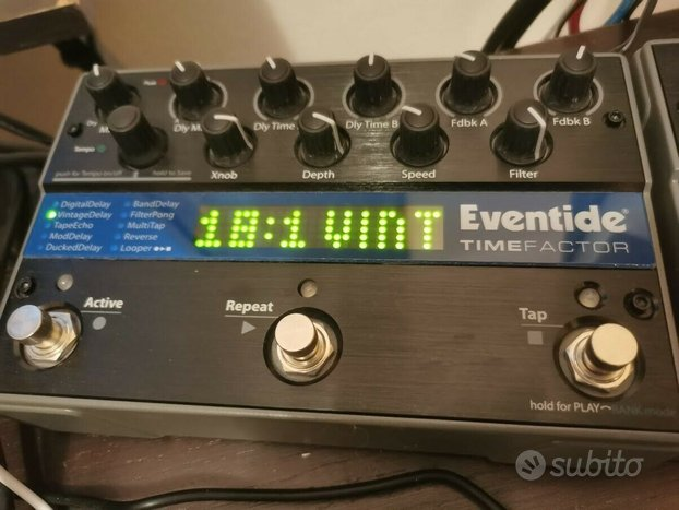 Pedale Delay Eventide TIME FACTOR
