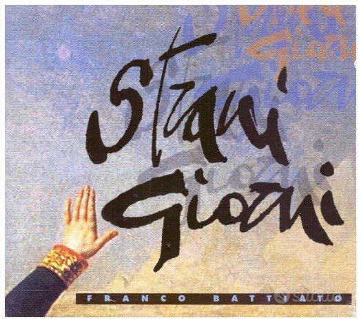 Franco Battiato - CD singolo Strani giorni