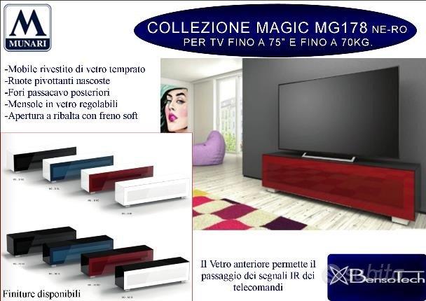 Mobile porta TV e AV Munari MG178 made in Italy