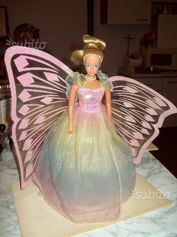 Barby con abito da sposa alato