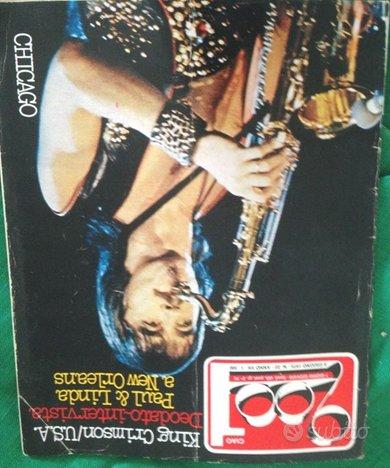 Ciao 2001 n 22 giugno 1975 chicago king crimson