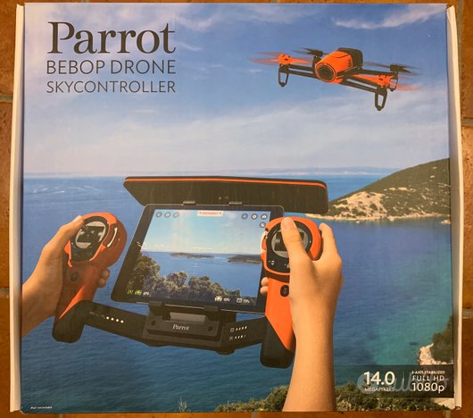 Parrot Skycontroller Red Per Bebop Drone NUOVO