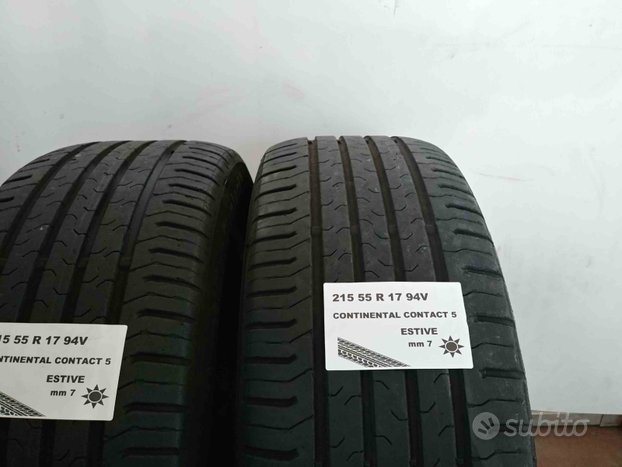 Gomme usate 215 55 r 17 continental