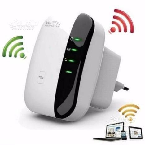 Amplificatore Ripetitore wireless wifi router