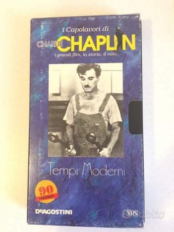 Vhs Film Tempi Moderni, Charlie Chaplin