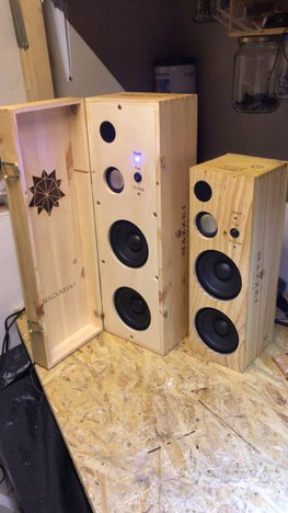 Cassa audio amplificata Bluetooth