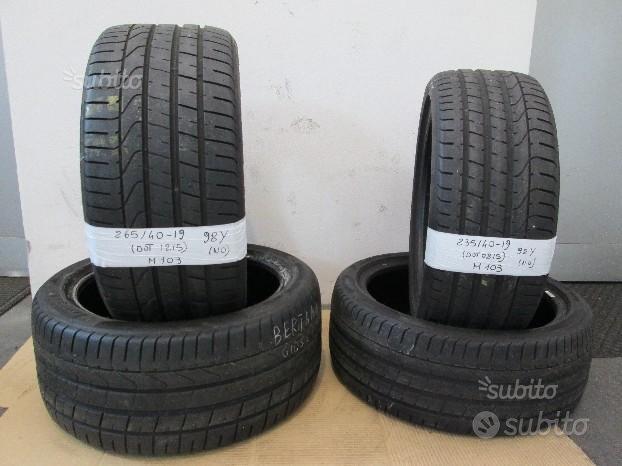 235/40-19 265/40-19 pirelli pzero n0 porsche