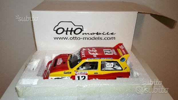 MG Metro 6R4 Rally Tour Corse 1986 1:18 Ottomobile