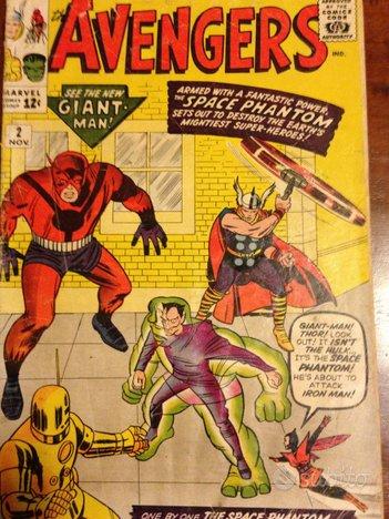 Fumetto Originale AVENGERS n.2 del 1963
