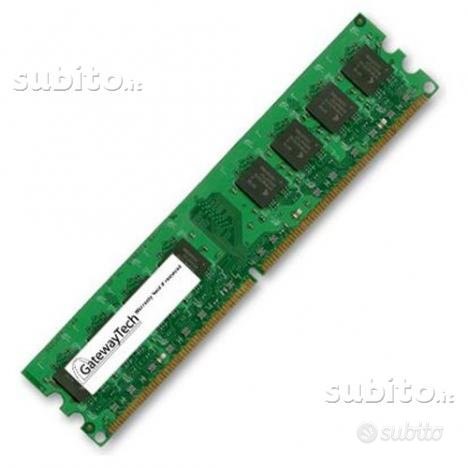Pc2-5300 memoria ram 512 mb ddr2 dimm 667mhz acer