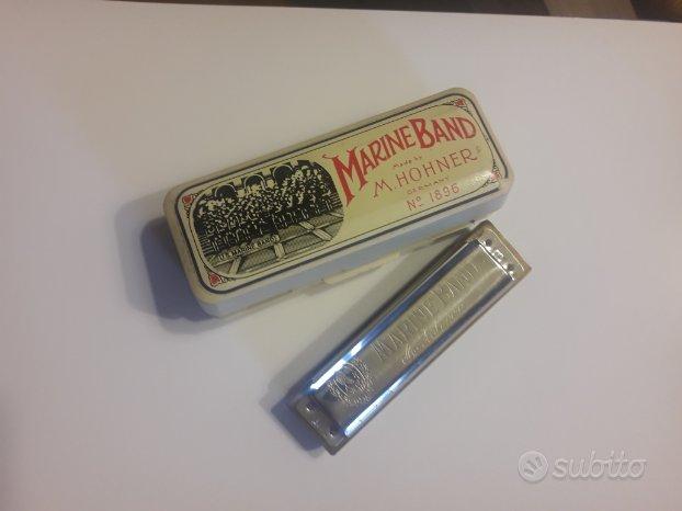 Hohner Marine Band 1896 armonica a bocca