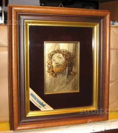 Quadro volto di Cristo