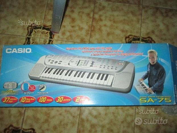 Pianola Casio SA - 75