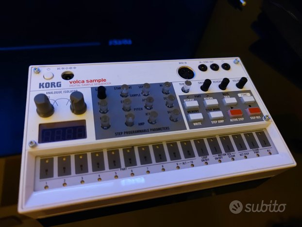 Drum machine volca sample Korg