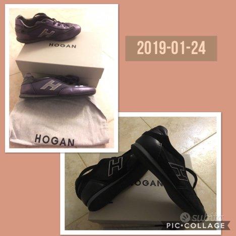Hogan olympia nere e viola n. 36 ORIGINALI - Abbigliamento e ...