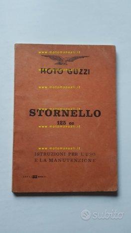 Moto Guzzi Stornello 125 Turismo 1960 manuale uso