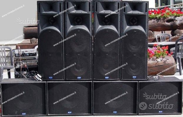 Impianto amplificazione 6.000 watt db Technologies