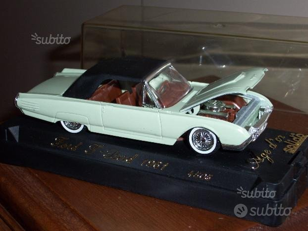 Ford Thunderbird cabriolet 1961 solido 4505 france