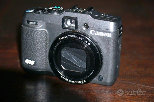 Canon g16 set fotosub custodia fantasea flash sea