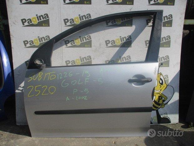 Porta anteriore sx volkswagen golf 5 2008 5p
