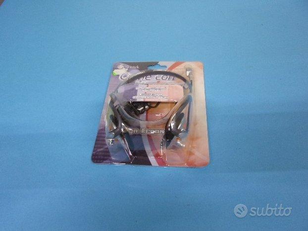 Cuffie con microfono Skintek kit auricolare stereo
