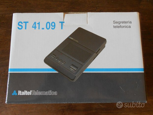 Segreteria telefonica Italtel Telematica ST41_09 T