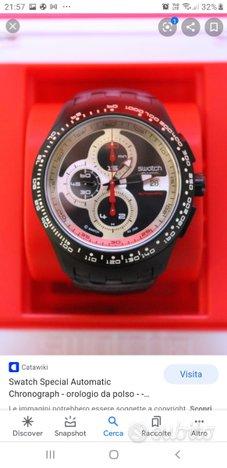 Swatch cronografo