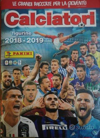 Figurine calciatori panini 2018 2019