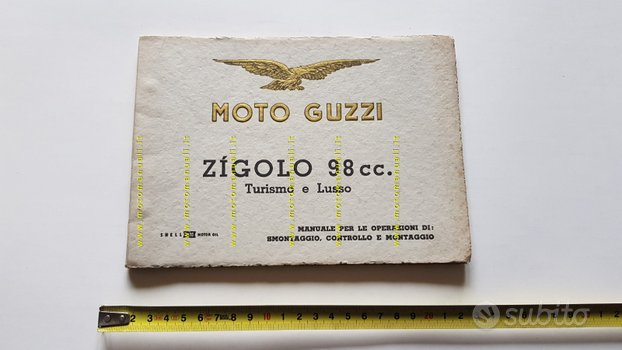 Moto Guzzi ZIGOLO 98 Tur-Lusso 56 manuale officina