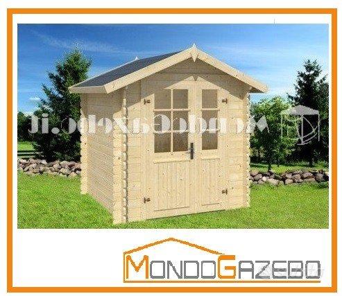 Subito - MondoGazebo.it - Casetta legno MOD. MARSIGLIA ...