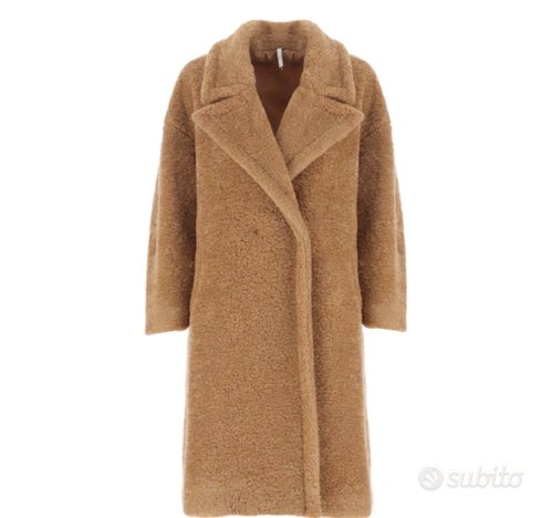 Cappotto teddy imperial beige