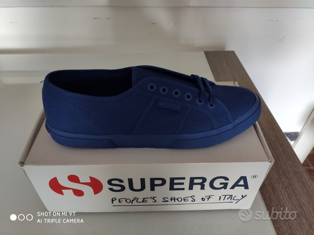 Superga Total Blu n.44 NUOVE