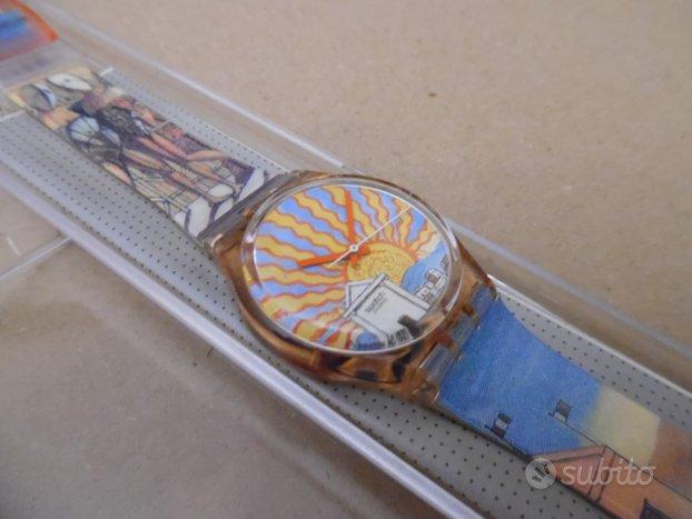 Orologio Swatch GP107 Il Poeta del 1993