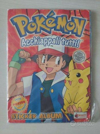 Album completo Pokemon acchiappali tutti