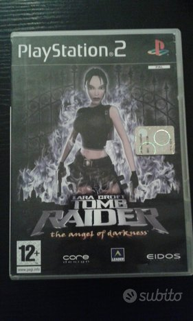 Tomb raider the angel of darkness ps2