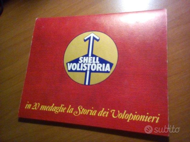 Serie 20 medaglie shell volistoria volopionieri
