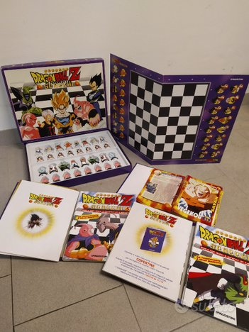 Scacchi Dragon Ball Z + manuali + schede