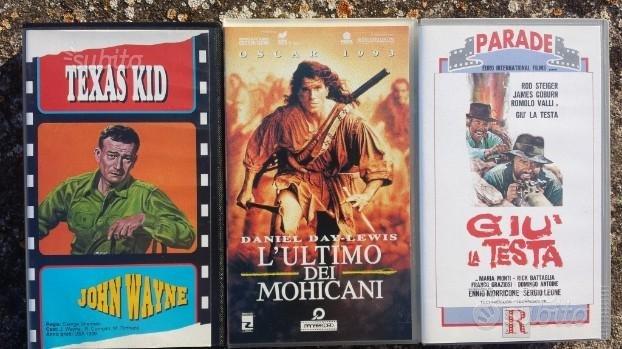 N.3 Videocassette VHS originali