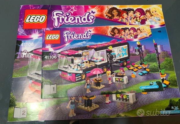 Lego friends 41106 l'autista delle pop star