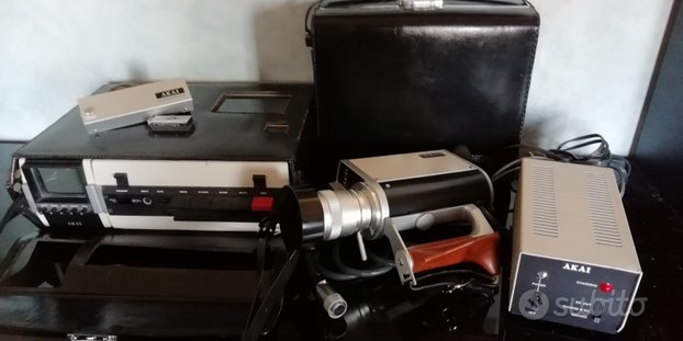 Akai telecamera videocamera registratore portatile