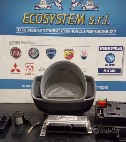 KIT CENTRALINA MOTORE SMART Fortwo Coupé 3° Serie